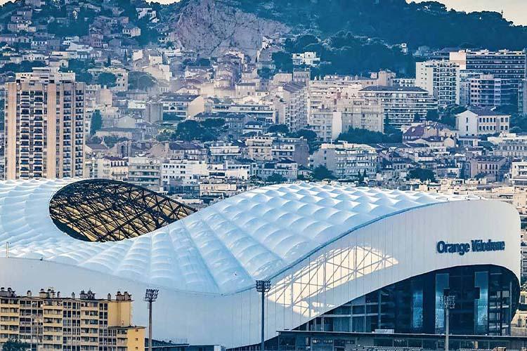 Le stade Orange Vélodrome : un concentré de ville…